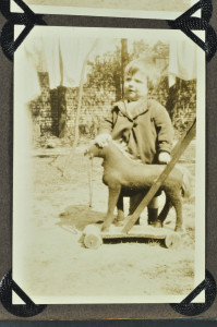 Boy with horse, c. 1930