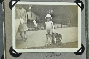 A boy's tram, c. 1925