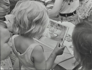Face painting, c. 1980