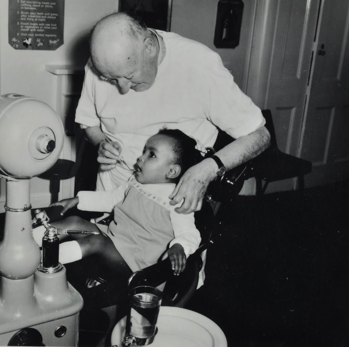 Dentist's chair, c. 1960