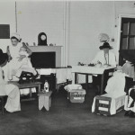 Baby clinic and banana crate 2 c. 1945 LMA_4314_07_008_0009
