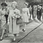 Queen Mum with Lady Mayoress behind 1973 LMA_4314_07_024_0006
