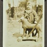 Horse on wheels c. 1929 LMA_4314_07_026_0035