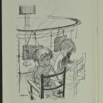 Vitamin D artificial sunlight sketch 1933 LMA_4314_04_025_0004