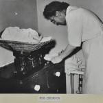 Baby weighing c.1952 LMA_4314_07_007_0008