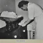 Baby weighing c.1952 LMA_4314_07_007_0008