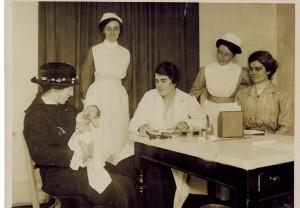 Baby clinic c. 1915